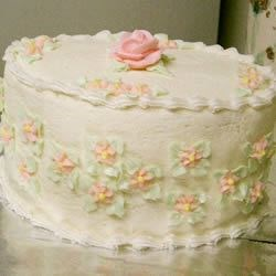 Wedding Cake Icing Recipe - Very Easy! Add a little more water to ice the cake and a little less to make the decorations!