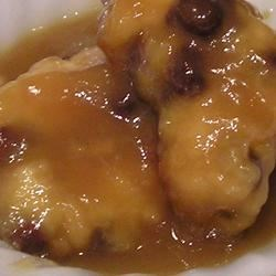 Half-hour Pudding Cake (Montreal Pudding) Recipe - My Mom used to make this and I still make this pudding-like cake. During the baking the batter rises to the top and a pudding like sauce forms underneath the crust. There is also a lemon version.