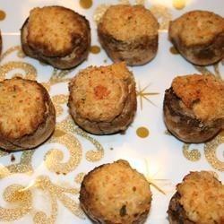 Best Seafood Stuffed Mushrooms
