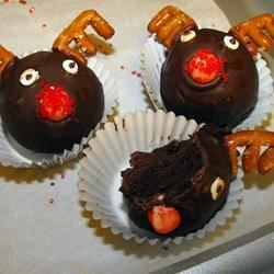 Reindeer Cake Balls