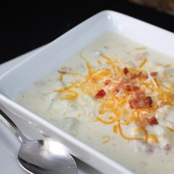 Ham and Corn Chowder Recipe - Transform your leftover ham into a creamy ham and corn chowder for a warm and comforting weeknight meal.