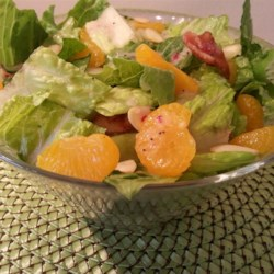 Romaine and Mandarin Orange Salad with Poppy Seed Dressing Photos ...