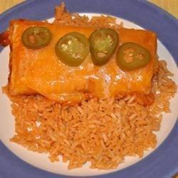 Mexican Rice II & Lunch Lady Enchiladas