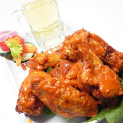 Hot and Spicy Wing Sauce Recipe - Serve your favorite chicken wings with this hot and spicy dipping sauce--a little goes a long way!