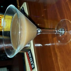 French Vanilla Iced Latte Martini Recipe - This French vanilla iced latte martini made with espresso, vanilla-flavored soy milk, and coffee-flavored liqueur is a great dessert for coffee lovers.