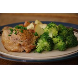 Blue Cheese, Bacon and Chive Stuffed Pork Chops Recipe - This is an amazing recipe I made up to make something fancier from good ol' pork chops. This is a rich recipe.  To add another twist, add fresh chopped apples and pecans to the blue cheese mixture. Yum! Enjoy!