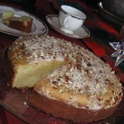 Vaselopita - Greek New Years Cake Recipe - Traditional Greek New Years Day bread.  Served as a coffee cake for breakfast.  Also the person who receives the quarter inside gets good luck for 1 year!