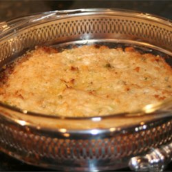 Crab Imperial II Recipe - A tangy, rich crab dish that will be enjoyed by the family or by guest. Incorporate scallops and tiny shrimp to dress up the dish.