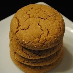 Big Soft Ginger Cookies for Christmas
