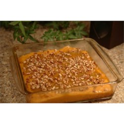Sweet Potato Casserole I Recipe - Sweet, rich, and crunchy. A lovely addition to your feast. Originally submitted to ThanksgivingRecipe.com.