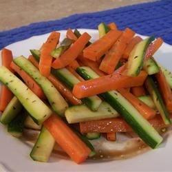 Carrot Zucchini Saute