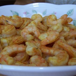 Thai Spiced Barbecue Shrimp Recipe - This is the best recipe ever for barbecue shrimp: very tasty with a little kick!