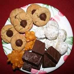 2009 christmas cookie tray :)