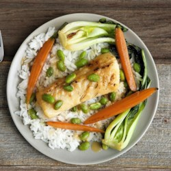 Miso-Glazed Black Cod Recipe and Video - Chef John's recipe for miso-glazed black cod is his take on the dish made famous by chef Nobu Matsuhisa.
