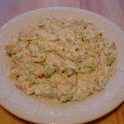 Chicken Salad Recipe -  A quick summer salad, tossing chicken with herbs, chopped celery and mayonnaise or any favorite prepared dressing.