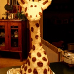 Charlie's Giraffe Cake for his First Birthday!