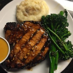 Grilled pork chop recipes spicy
