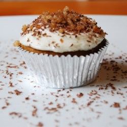 Candied Yam Cupcakes