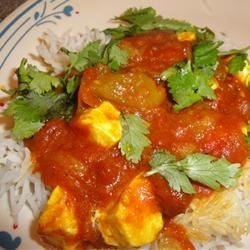 Paneer Jalfrazie Recipe - This Indian dish features fried cubes of Paneer, a southeastern Asian cheese, in a mixture of onion, bell pepper, and tomato.