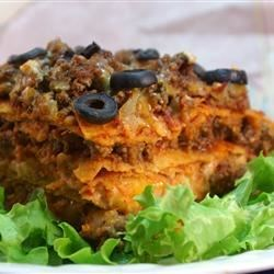 Mel's Enchilada Lasagna