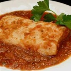 2-Stepping Spicy Poached Mahi Mahi