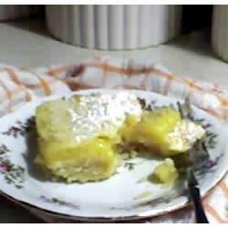 My lemon bars