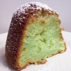 White Chocolate Pistachio Bundt Cake