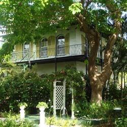 Ernest Hemmingway's house,key west.