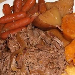 Awsome Slow Cooker Pot Roast