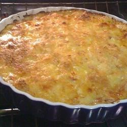 Christina's Cheesy Ham & Potato Casserole