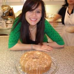 Me and my fabulous coffee cake :P
