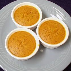 Individual Pumpkin Souffles