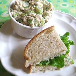 Tofu Sandwich Spread Recipe - This is a favorite vegetarian sandwich spread made with tofu. Makes a great sandwich filling or you can eat it with crackers.