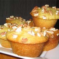 Butter Tart Muffins Recipe - Muffins as tasty as butter tarts without the calories. Rum or butterscotch flavorings make tasty variations.