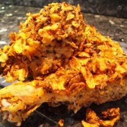 Baked Crumbled Chicken