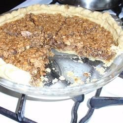 Oatmeal Pie V Recipe - Cinnamon and cloves spice up this sweet and wonderful pie filling that bakes up tasting exactly like a sweet and pecan pie.