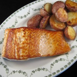 Pan-Fried Wild Salmon Recipe - This is a simple way to prepare tasty wild salmon!
