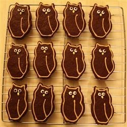 Chocolate Cut Out Cookies Recipe - A great cookie for cutouts that are brown in color:  footballs, animals, leaves, etc.