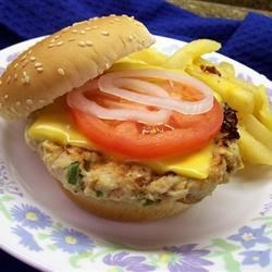 Zesty Turkey Burgers Recipe - Turkey burgers with a bit of zest. Great on buns or plain.