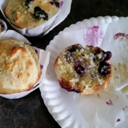 Breakfast Muffins Recipe - Your favorite fresh fruit works beautifully in these simple, buttery muffins. They freeze well, too.