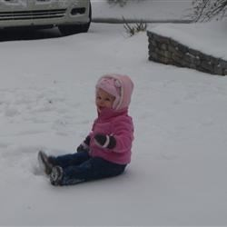 Loving the snow :)