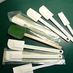 My rubber spatulas