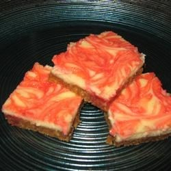 Super Easy Strawberry Cheesecake Squares