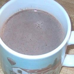 Spiced Hot Chocolate Recipe - This homemade hot chocolate is flavored with vanilla, cinnamon, chili powder, nutmeg, and cloves.