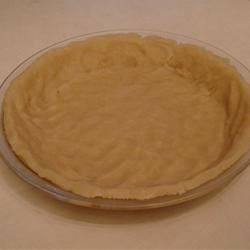 Easy Pie Crust Recipe - This recipe was given to me by a friend of mine many years ago and I enjoy it because it has a different taste and is so easy to fix.