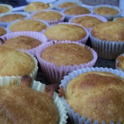 Buttermilk Cornbread Muffins Recipe - Moist and delicious, this is a sweet corn muffin with honey and buttermilk.