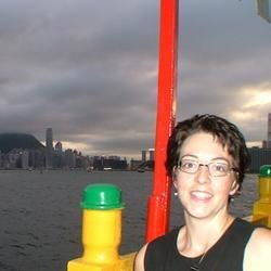 On vacation in Hong Kong