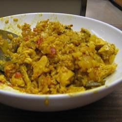Arjun's Lime Chicken Rice