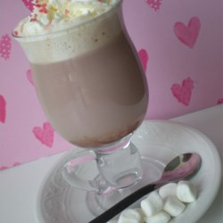 Hot Chocolate Mix II Recipe - This is a very good stocking stuffer for that collegiate in the family, or a gift for the boss at work. It makes a small but elegant gift for the holidays.