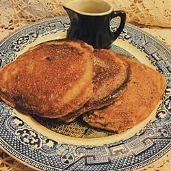 Whole Grain Spelt & Flax Seed Pancakes*Got Berries?